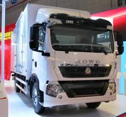 Новый HOWO T5G 4×2 Изотермический фургон Красноярск