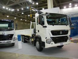 Воровайка - Бортовой грузовик HOWO T5G 4×2 ZZ5167JSQM501GE1