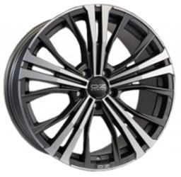 OZ Cortina 10.0x19 5/130 ET55 d-71.6 Matt Dark Graphite Diamond Cut (W0189100149)