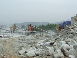 Дробильный комплекс 50т/час для известняка, угля, бетона.