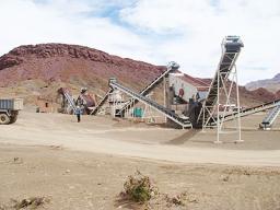 Дробильно-сортировочный комплекс 120т/час для пескогравия.