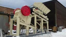 Комплекс первичного дробления, 150 т/час