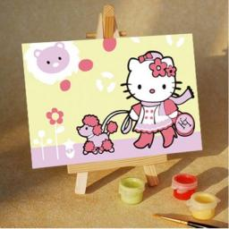 Раскраска Hello Kitty. На прогулке, 10x15, Menglei