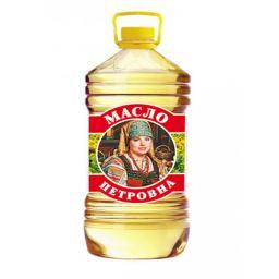 Масло подсолнечное оптом (налив, бутылки - 0.9л, 1л, 5л)