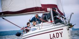 Прогулка на яхте по Минскому морю