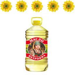 Подсолнечное масло оптом в бутылках 0.9л,1л,5л