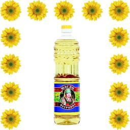 Масло подсолнечное оптом в бутылках 0.9л,1л,5л