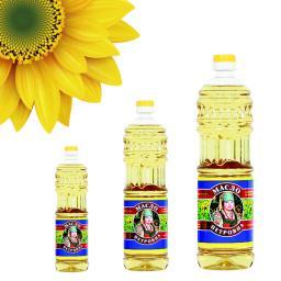 Подсолнечное масло оптом (в наличии крупные объемы)