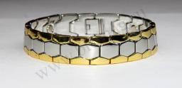 Магнитный металлический браслет ММБ-07 (мужской)