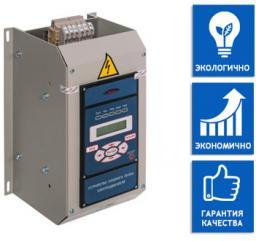 Устройство плавного пуска УПП Веспер ДМС выпускается мощностью до 400 кВт.