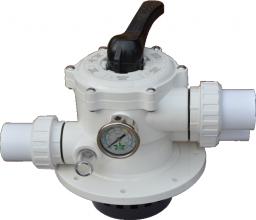 6 позиционный клапан для бассейна MPVT50 Pool King