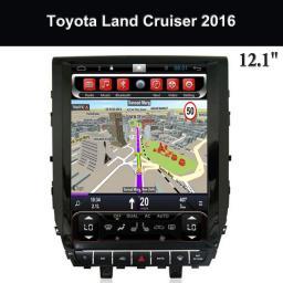 Toyota Автомагнитолы 2 Дин с GPS поставщики 12,1-дюймовый сенсорный экран Land Cruiser 2016