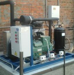 Одно-компрессорные агрегаты «Bitzer»