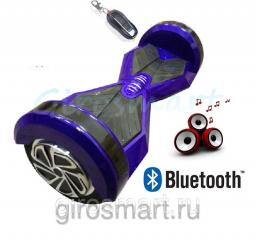 Гироскутер Robot Wheel. Трансформер 6,5. Верхняя led- подсветка. Bluetooth. Сине-черный