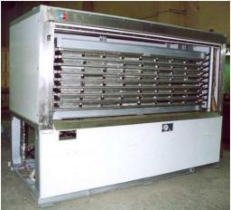 Аппараты скороморозильные плиточные АСМП-АВ-Г от 0,35 до 10 т/сутки (горизонтальные)