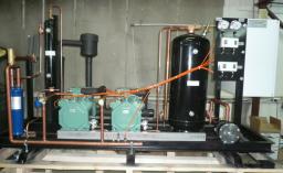 Двух-компрессорные станции серия КС «Bitzer»