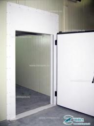 Холодильные двери с утепленным блоком серия РДОБ (ОН) шир. проема 800мм