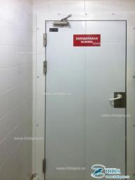 Двери распашные противопожарные (холодильные) серия РДО (EI45) шир. проема 800мм