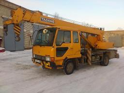 Аренда автокрана KATO. 5 тонн.