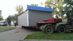 Перевозка павильонов
