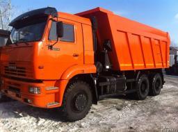 Аренда самосвалов КАМАЗ - 20 тонн.