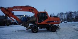Аренда колесного экскаватора DOOSAN 210. ковш 1м3. Гидромолот в комплекте!