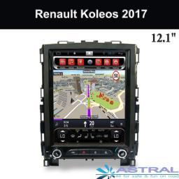 оптовая торговля 12.1 дюймовый Renault Мультимедийные магнитолы Koleos 2017