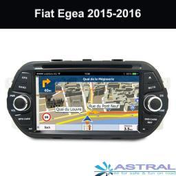 China Компания Автомобильные gps навигаторы с DVD Fiat Egea 2015 2016