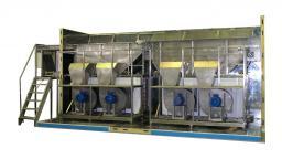Линии обработки и заморозки ягод от 200 кг до 2000 кг/час