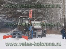 Машина коммунальная снегоуборочная МКС-2500