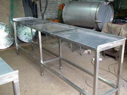Стол из н/ж стали для мясных лавок