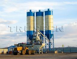 HZS75 быстромонтируемый завод бетона