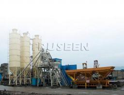 HZS25 -180 завод бетона чистый