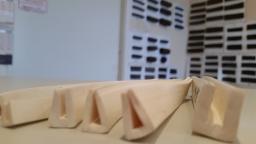 Профиль силиконовый п-образный под стекло 2,5 мм, белого цвета