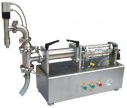Настольный поршневой дозатор для жидких продуктов LPF-2000T