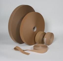 Лента крепированной бумаги 60 мм, диаметр 600 см, цвет натуральный