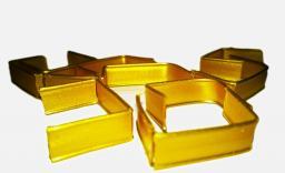 Клипса-зажим (цвет золото)