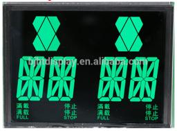 VA lcd ЖК-дисплей высокой контрастности c черным фоном для лифта