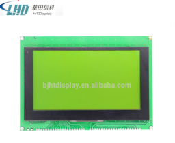 STN желто-зеленый ЖК-дисплей