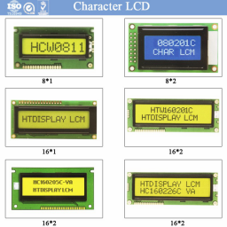 Трансфлективный ЖК-дисплей 16*4, желто-зеленая подсветка STN