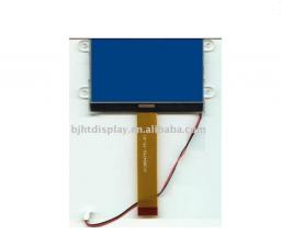 128 * 64 COG, STN синий ЖК дисплей с белой подвесткой
