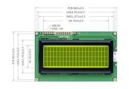 Модули LCD дисплеев WINSTAR Display