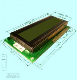 ЖК дисплей на основе микроконтроллера HD44780