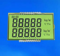 Жидкокристаллические дисплеи (LCD displays). 7-разрядные ЖК дисплеи DisplayElektronik