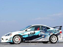 Передний бампер C-West для Honda Integra dc5