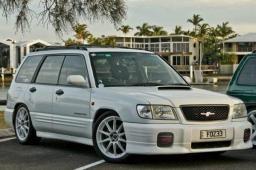 Комплект широких накладок для Subaru Forester SF (рестайл)