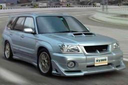 Накладки на бамперы Syms для Subaru Forester SG