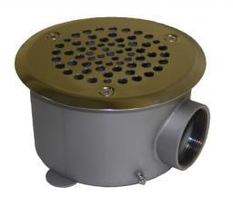 Круглый донный слив для бетонного бассейна Р4-03