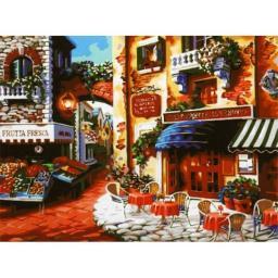 Раскраска Вкус Италии Ники Боэм, 40x50, Menglei