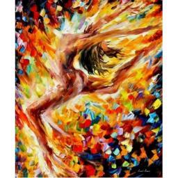 Раскраска Танец любви Афремов Л., 40x50